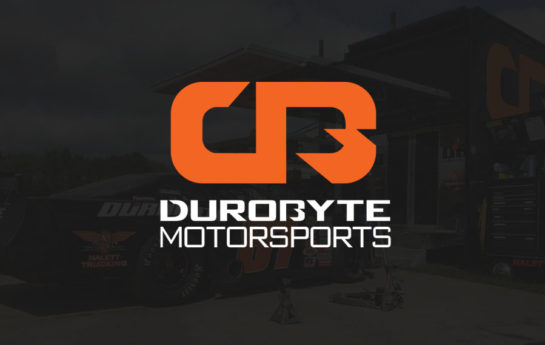 Web design and branding for DuroByte Motorsports